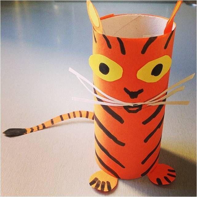 прикольный тигр