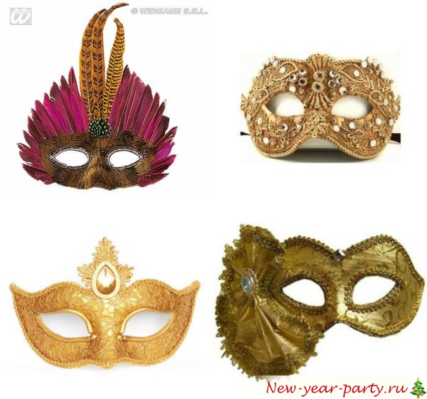 Маски новогодние карнавальные своими руками фото