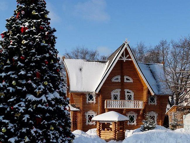 домик Снегурочки в Костроме