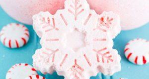 Нежно-розовые бомбочки для ванн