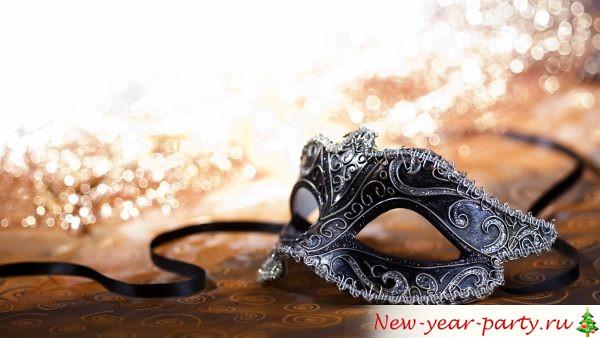 Как сделать маску на Новый год