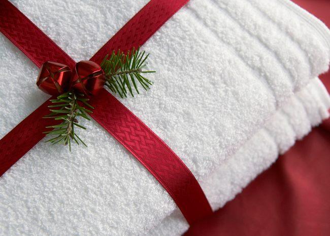 Полотенце в дар