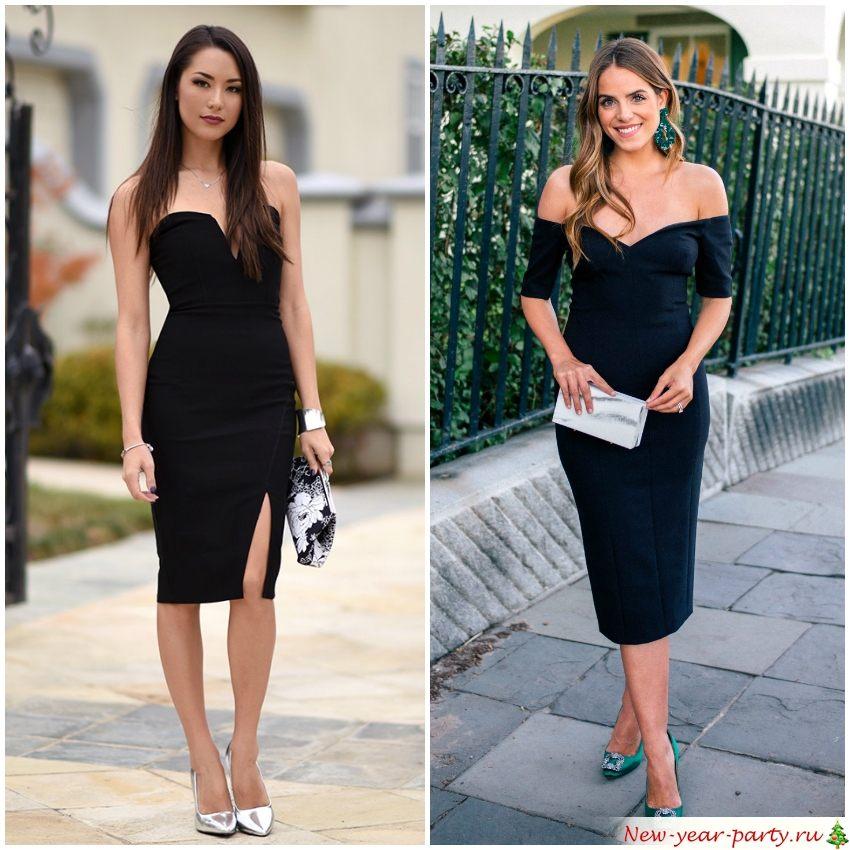 Черные платья всегда в моде