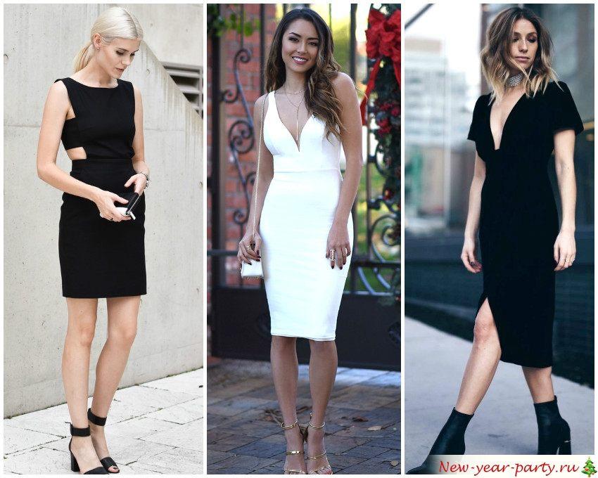 Изысканные платья для Нового года