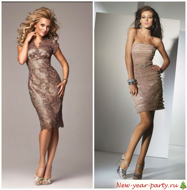 платья короткие на корпоратив фото