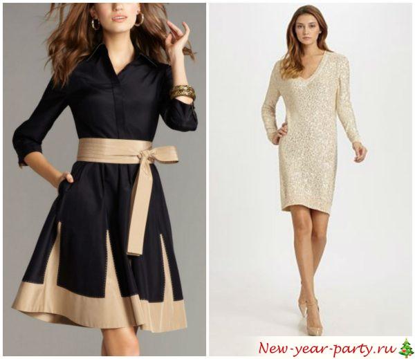 необычные платья на празднование Нового года