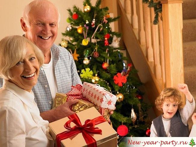 Что подарить бабушке на Новый год 2022