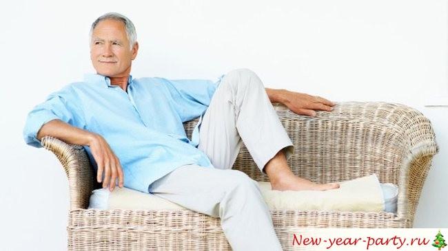 молодой красивый дедушка