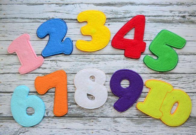 Цифры для вырезания на Новый год