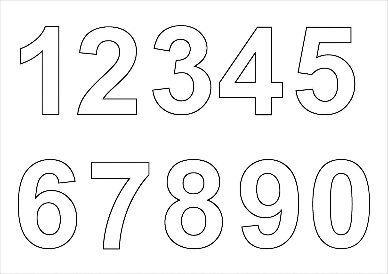 Как сделать трафарет из цифр своими руками