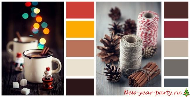Цветовая палитра для украшения дома 2016