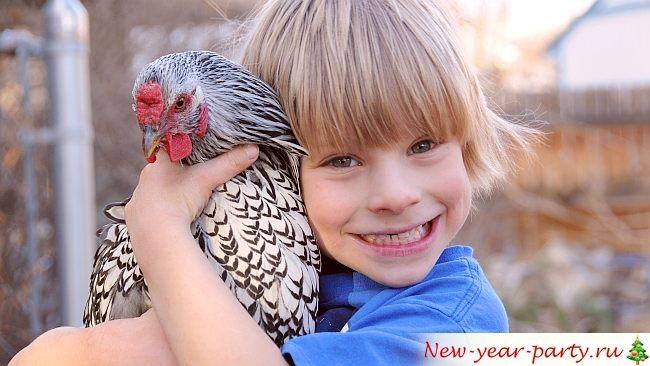 Ребенок в год Петуха 2017