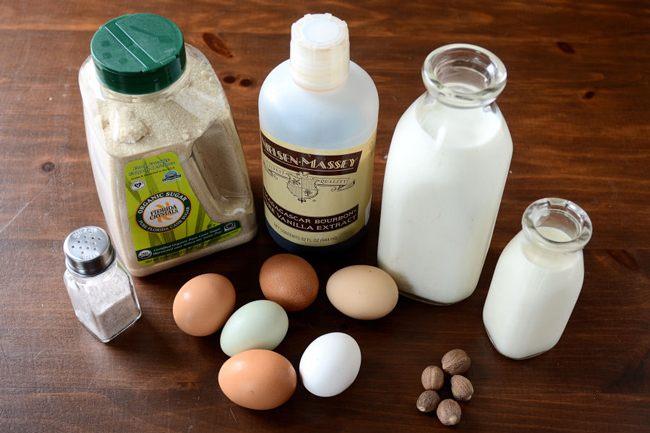 Ингредиенты для гоголя-моголя