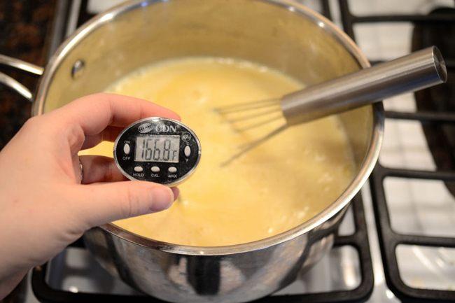Измеряем температуру по рецепту