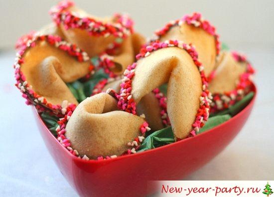 Китайские печенья с предсказаниями, фото