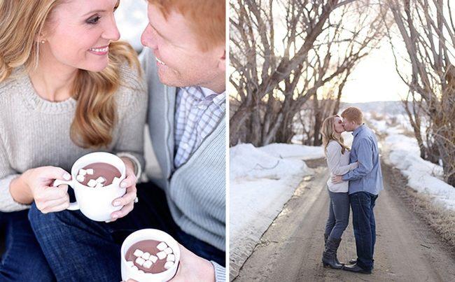 кофе, зима