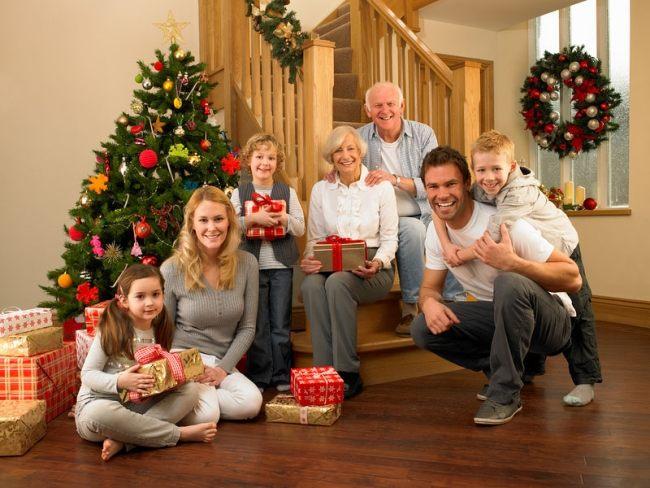фото всей семьей