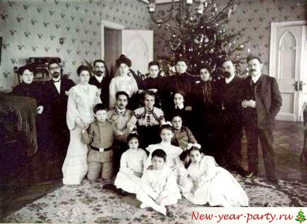 история празднования рождества и Нового года