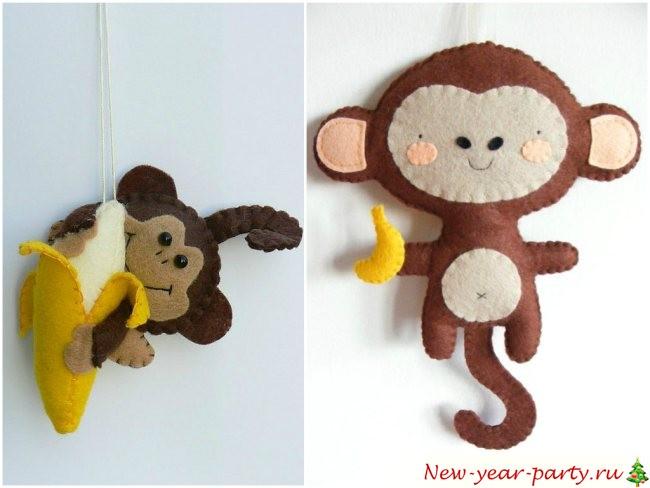 Как сделать обезьяну