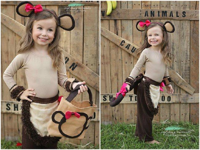 Костюм обезьяна своими руками для ребенка 15