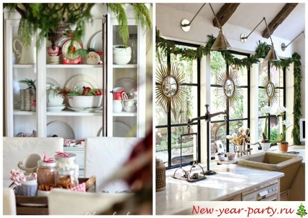 посуда и окна