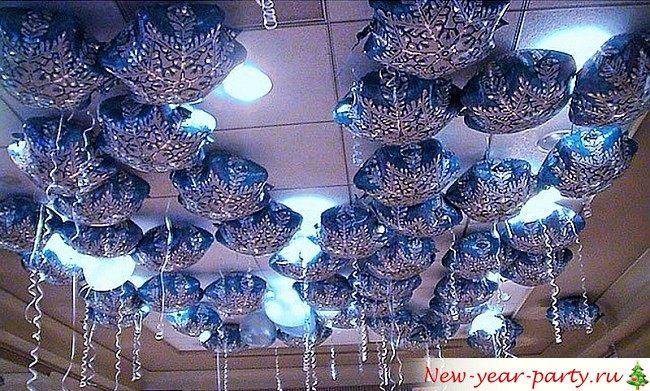 Украшение воздушными шарами