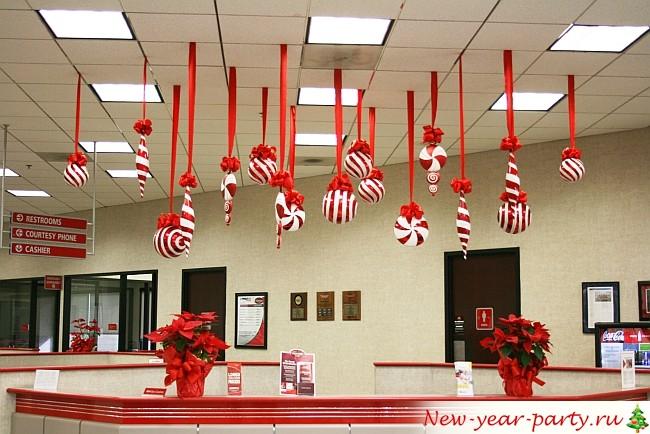креативное украшение для офиса