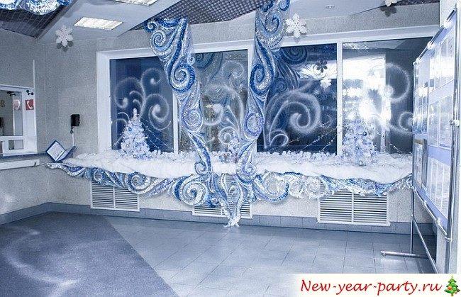 Как украсить офис на Новый год 2018