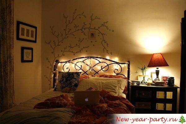 новогодний декор спасльни