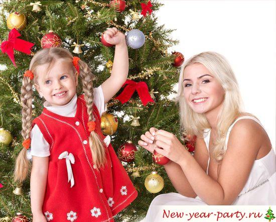 Как весело встретить Новый год с ребенком?
