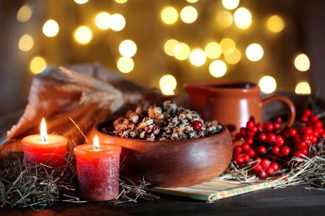 Календарь питания Рождественского поста