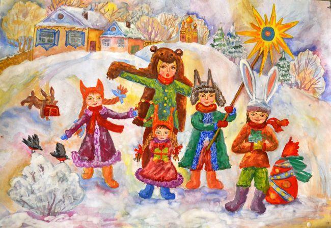 Колядки, щедровки на Старый Новый год