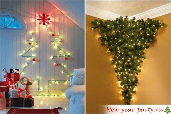 Креативные елки на Новый год 2022