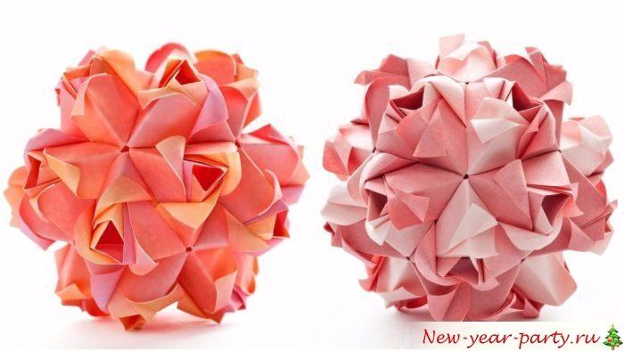 Поделка в технике оригами
