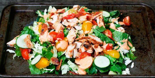 Легкий рецепт салата: мастер-класс