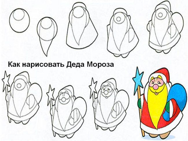 narisovat-deda-moroza-snegurochkui07