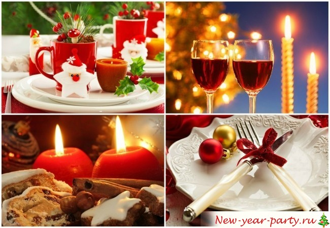 Новогоднее меню 2016