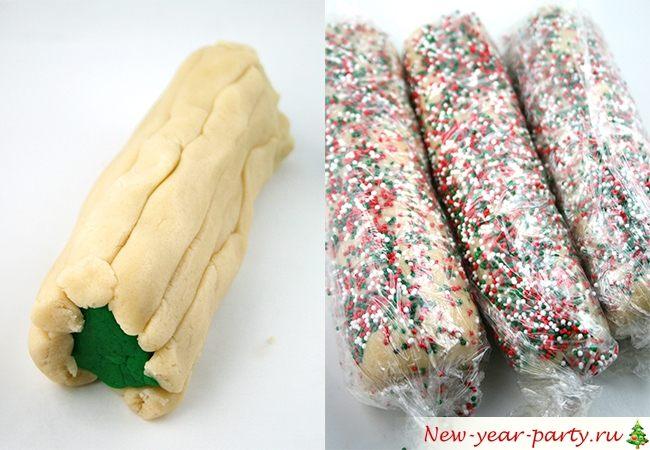 как сделать печенье на новый год