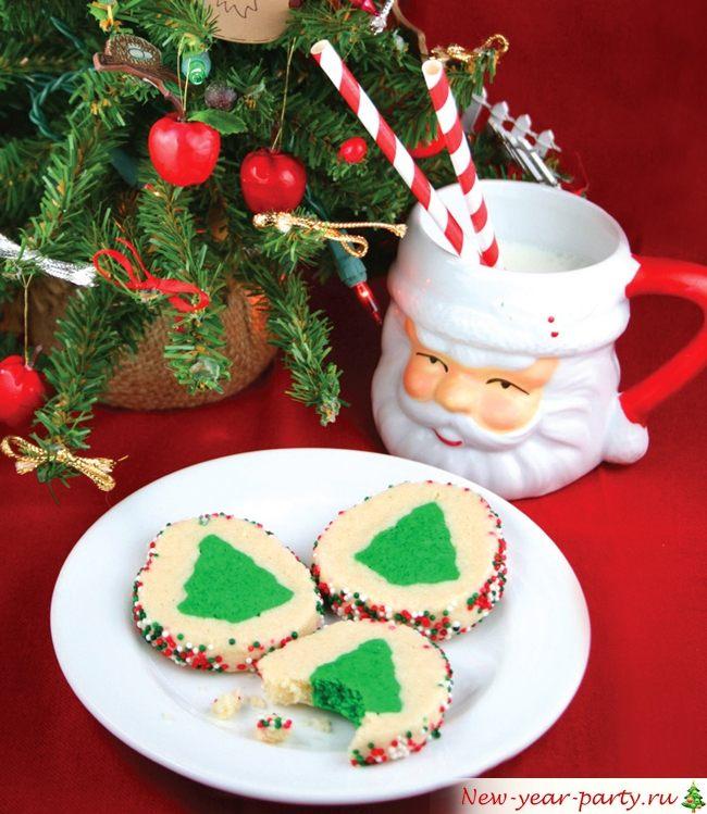 Рассыпчатое новогоднее печенье