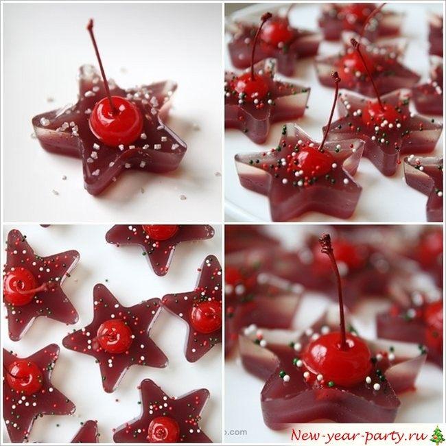 вишневое лакомство на Рождество