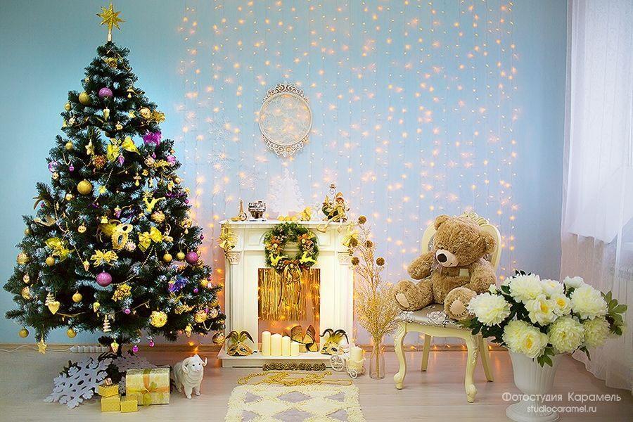 Декорации на Новый год 2018 для фотостудий