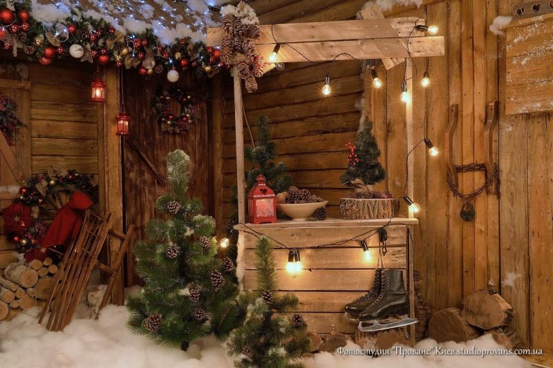 Шишки, коньки, елки-палки - новый год в самом разгаре!