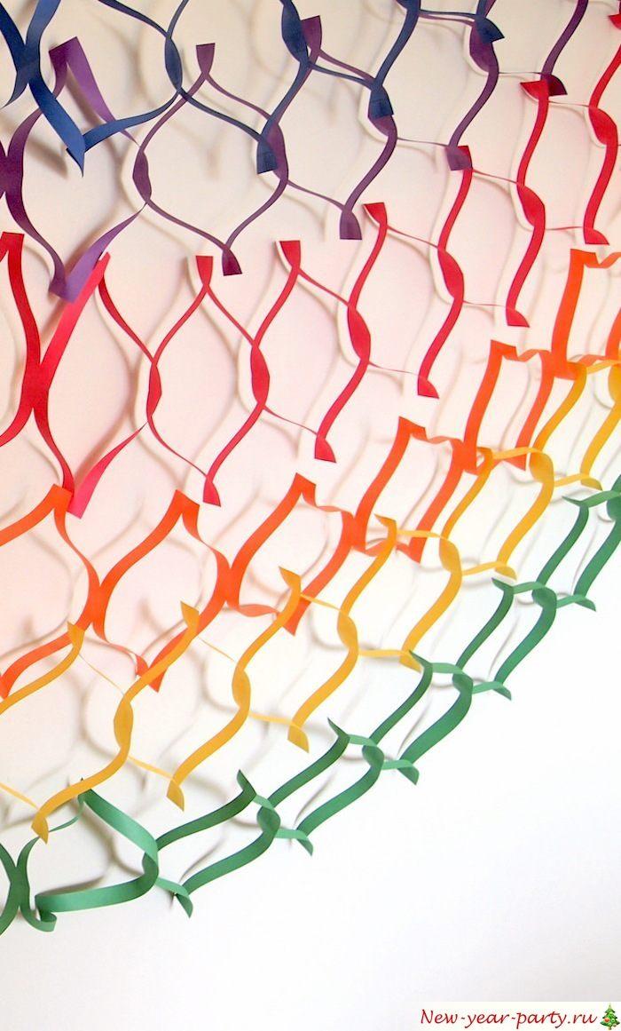 Разноцветная сеточка