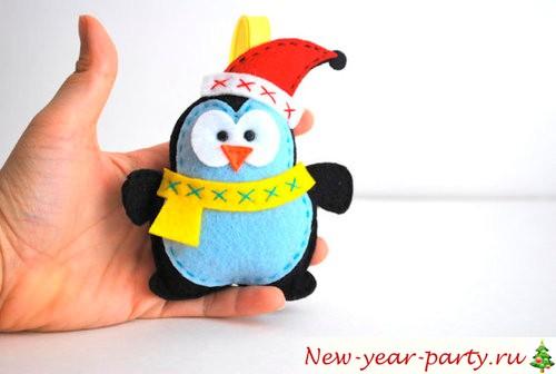 Снеговик из гирлянд своими руками