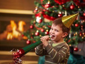 Детские Новогодние игры