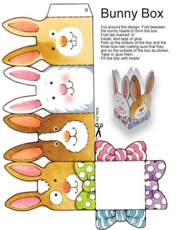 выкройка зайца