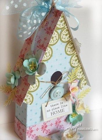 Подарочная коробка своими руками в виде торта 186