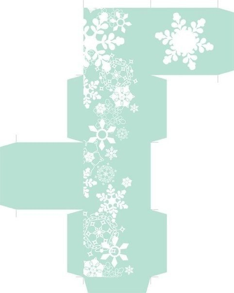 со снежинками