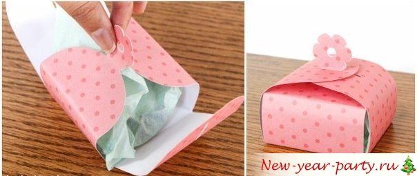 готовая упаковка для подарков и конфет
