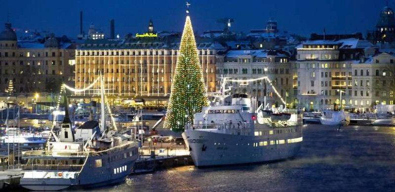 Новогодний круиз по Балтийскому морю.